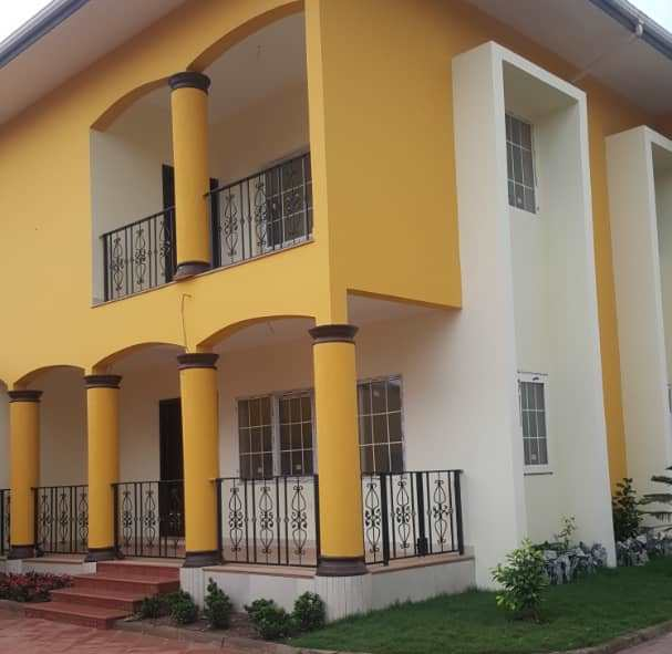 4 4-bedroom Houses In Nmai Dzorn Accra, In Gated Community